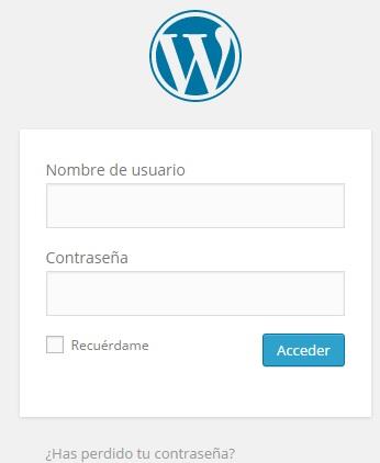 Login WordPress wp-admin