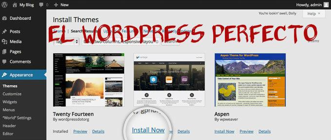Recomendaciones SEO para elegir el tema WordPress perfecto