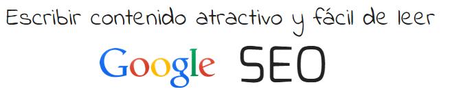 Escribir contenido atractivo