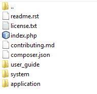 Cómo instalar Codeigniter