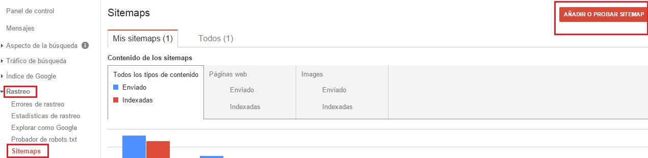 Enviar Sitemap Google