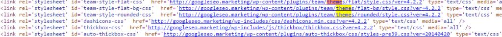 Código Fuente WordPress