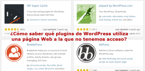 Plugins WordPress en otra página Web