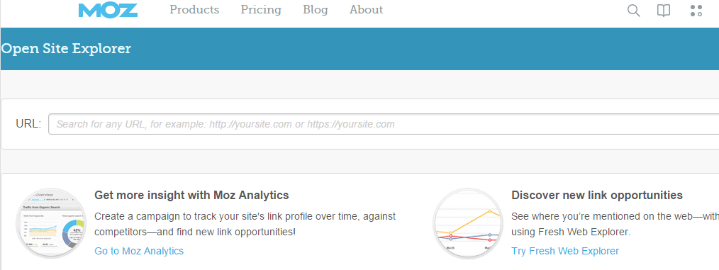 Link Analysis of Moz