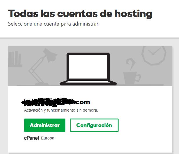 Administrar Hosting Godaddy - Aumentar memoria PHP