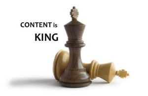 Content is King. El contenido es el rey SEO
