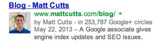 Google rel author