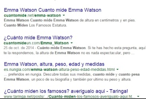 Quitar fecha de resultados de Google