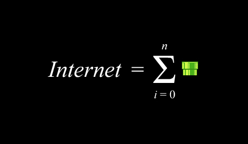 Internet is a series of tubes