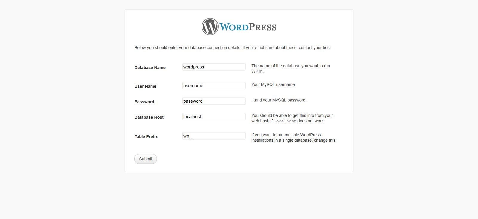 Wordpress: La famosa instalación de 5 minutos