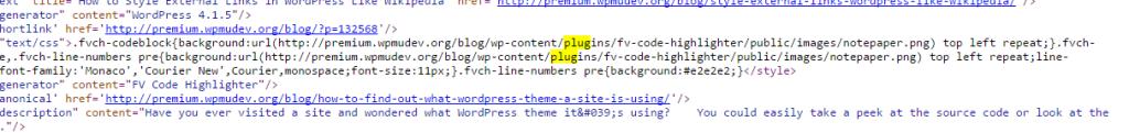Plugins WordPress en código fuente