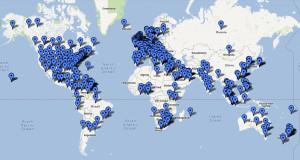Mapa países ISO