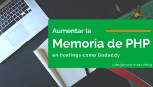 Cómo aumentar la memoria de PHP de tu hosting