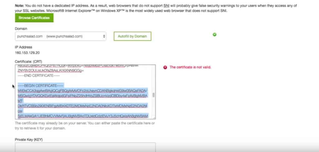Certificate Authority Bundle SSL