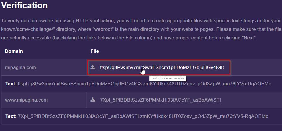 Probar SSL instalado