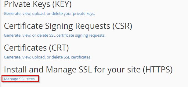 HTTPS en mi sitio web